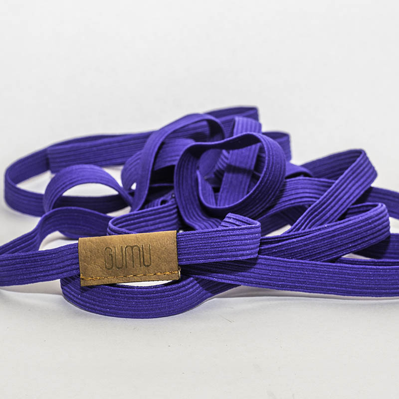 GUMU PURPLE GARTER