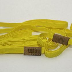 Skákací guma garter žlutá