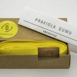 Skákací gumu freestyle žlutá