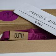 otevrena krabička purple