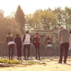 GUMU gang na natáčení promo videa