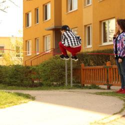 Nauč se triky jak skákat přes Gumu